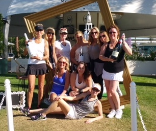 Ladies' Tri-Level Play at Indian Wells
