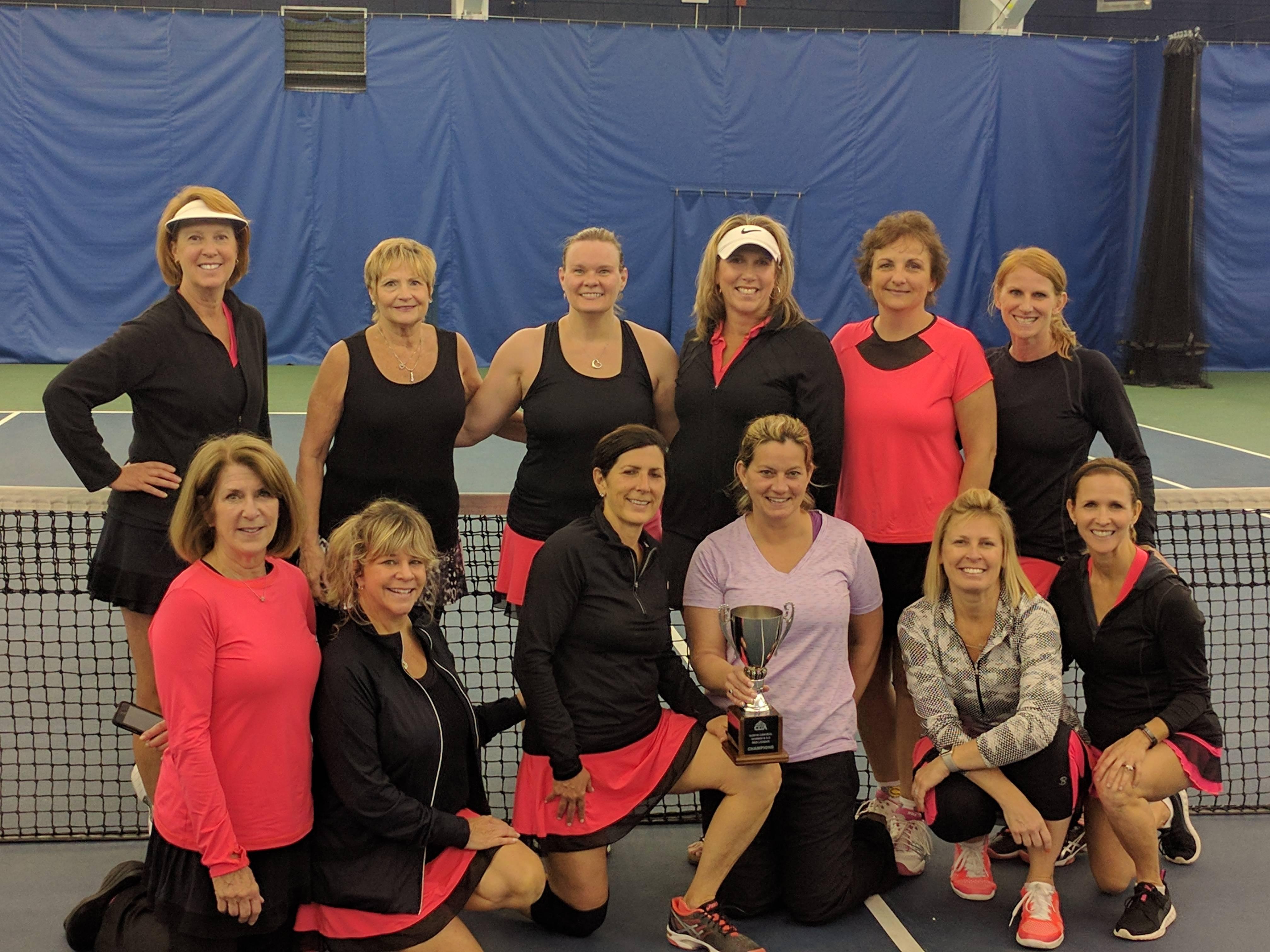 4.5 Women's Team Wins North/Central Crown